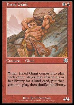 Hired Giant (Mietriese)