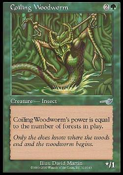 Coiling Woodworm (Windender Holzwurm)