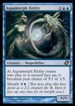 Aquamorph Entity (Aquamorphes Etwas)