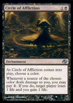 Circle of Affliction (Kreis des Kummers)