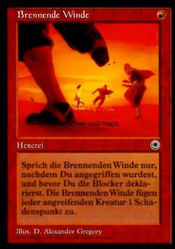 Brennende Winde (Scorching Winds)