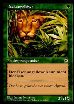 Dschungellöwe (Jungle Lion)