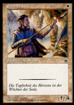 Eifriger Held (Devoted Hero)