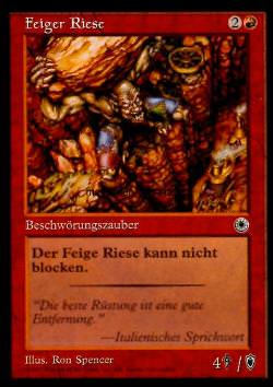 Feiger Riese (Craven Giant)