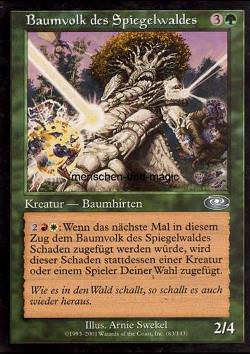 Baumvolk des Spiegelwalds (Mirrorwood Treefolk)