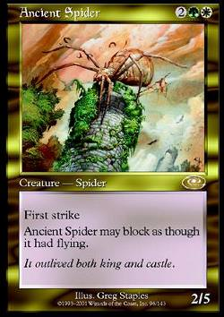 Ancient Spider (Uralte Spinne)