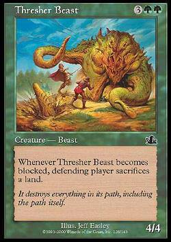 Thresher Beast (Zertrommler)