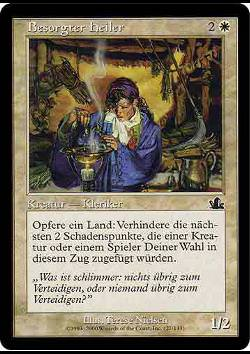 Besorgter Heiler (Troubled Healer)