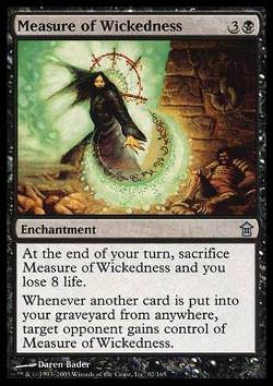 Measure of Wickedness (Maßstab der Bosheit)