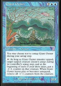 Giant Oyster (Riesenauster)