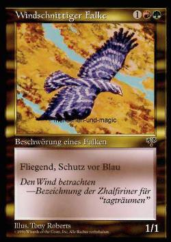 Windschnittiger Falke (Windreaper Falcon)