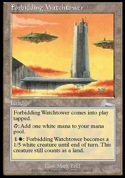 Forbidding Watchtower (Abweisender Wachturm)