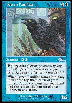 Raven Familiar (Vertrauter Rabe)