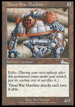 Thran War Machine (Kriegsmaschine der Thran)