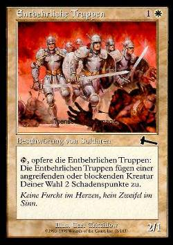 Entbehrliche Truppen (Expendable Troops)