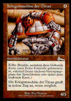 Kriegsmaschine der Thran (Thran War Machine)