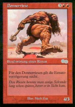 Donnerriese (Thundering Giant)