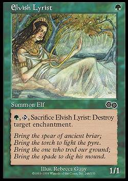 Elvish Lyrist (Elfendichter)