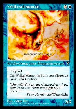 Wolkenelementar (Cloud Elemental)
