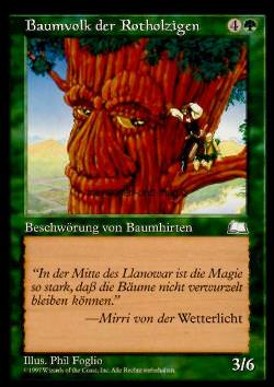 Baumvolk der Rotholzigen (Redwood Treefolk)