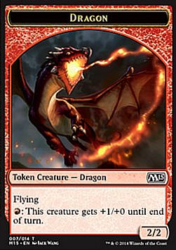 Token: Dragon (Red 2/2) (Dragon (Red 2/2)